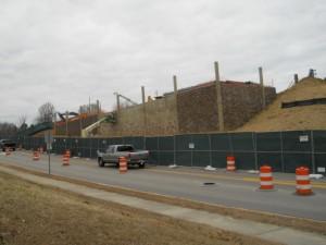 Progress Energy Retaining Wall in Raleigh
