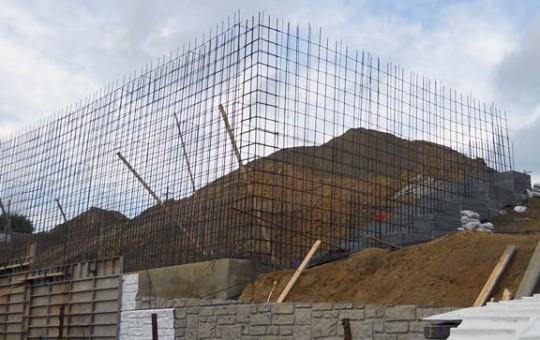 Progress Energy Retaining Wall
