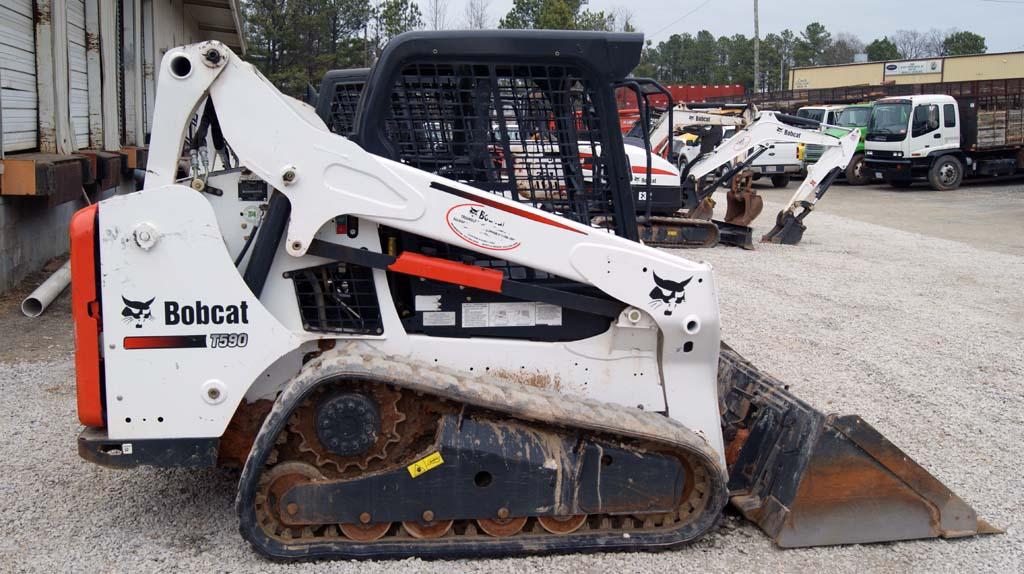 Bobcat T590 Loader – Ocmulgee Concrete