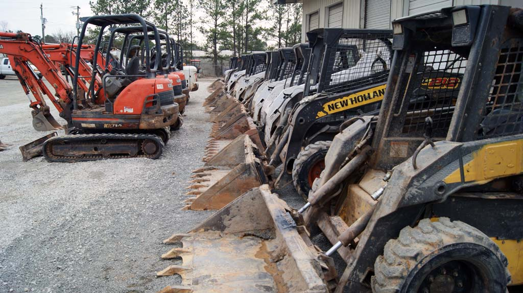 Ocmulgee's Excavators and Loaders – Raleigh NC