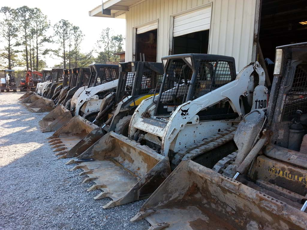Ocmulgee Concrete – Some of the Loader Fleet