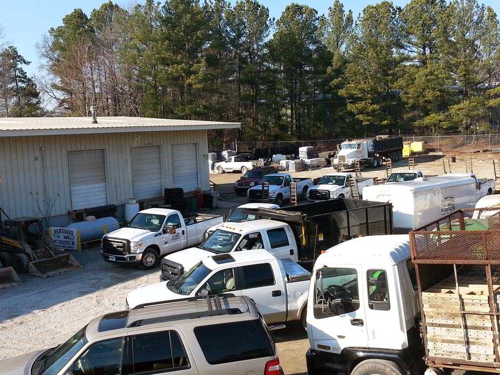 Partial Fleet Shot – Ocmulgee Concrete Raleigh NC