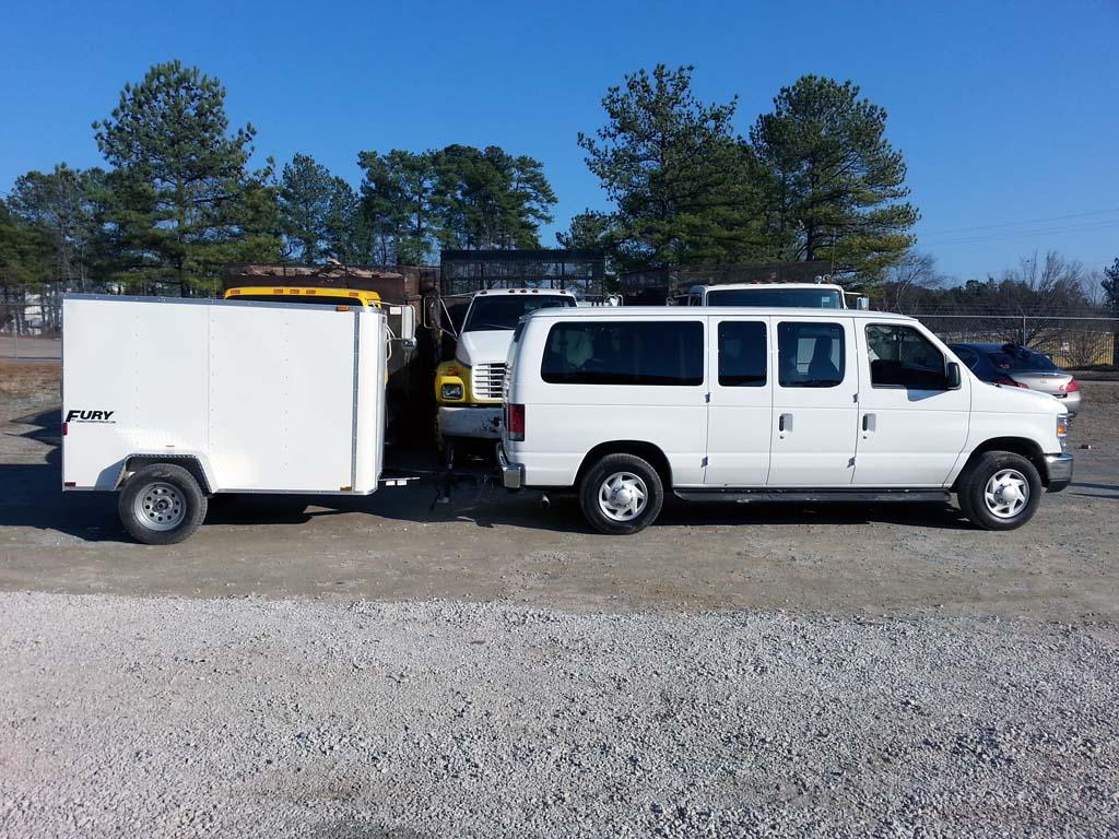 Ocmulgee Fleet vehicle – Concrete Finishing Raleigh NC