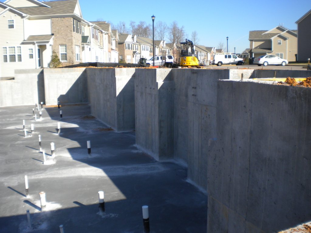 Commercial raleigh Construction concrete